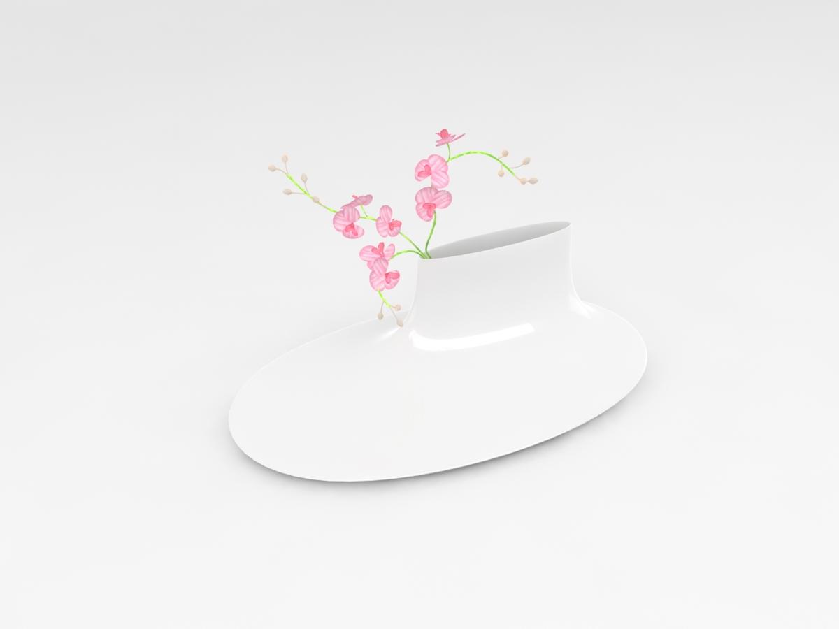 Lacquerware vase concept